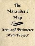 The Marauder's Map Harry Potter Area and Perimeter Project