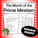 The March of the Prime Ministers of Canada Project + Rubric (Social Studies)