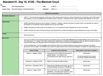 The Marshall Court (LP + Docs + PPT)
