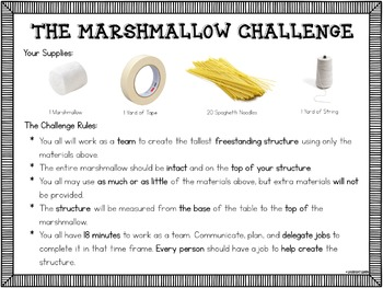 The Marshmallow Challenge Activity