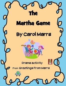 Drama Game - The Martha Game