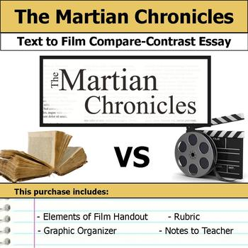 The Martian Chronicles - Text to Film Essay Bundle