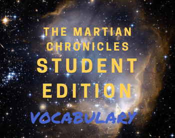 The Martian Chronicles- Vocabulary