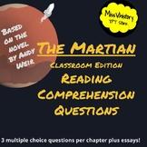 The Martian Classroom Edition Reading Comprehension Questi