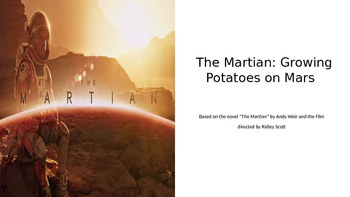 The Martian Digital eBook: Growing Potatoes on Mars Activity