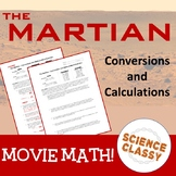 The Martian Movie - Conversions and Math Exercises