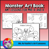 Monster Art Lessons, Art Book