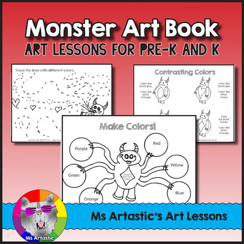 Learn About Colors with Monster Art Lessons