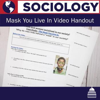 The Mask You Live In Video Handout