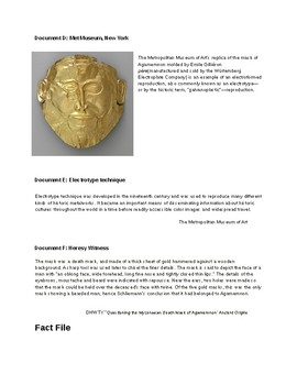 The Mask of Agamemnon: Fake or Forgery?