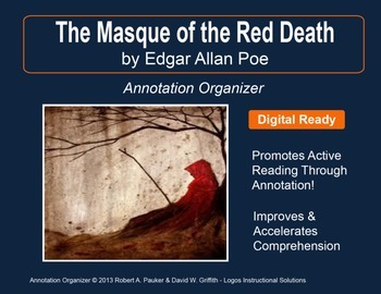 """Masque of the Red Death"" by Edgar Allan Poe: Annotation Organizer"