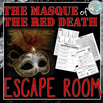 The Masque Of The Red Death Escape Room By Language Arts Excellence
