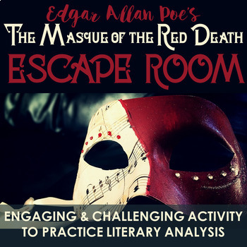 The Masque of the Red Death - Edgar Allan Poe- ESCAPE ROOM