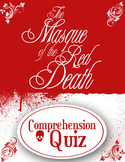The Masque of the Red Death Reading Quiz (+ Answers) Edgar