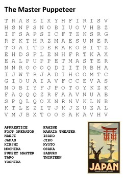 The Master Puppeteer Word Search