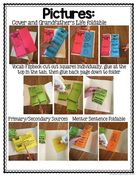 The Matchbox Diary {Mentor Text}
