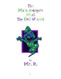 The Math Avengers Workbook (3rd - 4th grade)