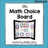 The Math Choice Board {Third Grade}