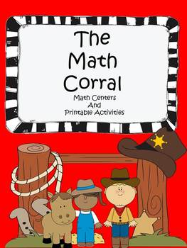 The Math Corral ~ A Western Theme Unit For Elementary Math