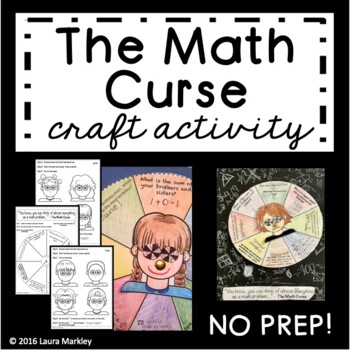 The Math Curse Craft Activity