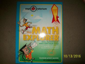 The Math Explorer Kit for 10 Students Grades 6-8   ISBN 1-55953-540-7