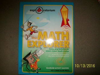 The Math Explorer Kit for 10 Students Grades 6-8   ISBN 1-
