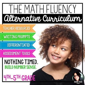 The Math Fluency Alternative Curriculum BUILD NUMBER SENSE for Big Kids!