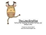 The Math Line Giraffes