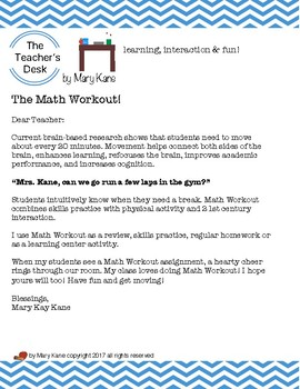 The Math Workout Upper Elementary, Long Division and Story Problems