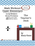 The Math Workout Upper Elementary, Long Division and Story