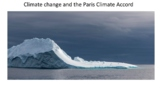 The Math of Climate Change & the Paris Accord: Talking abo