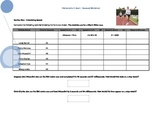 The Mathematics of Sport- Worksheet