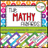 The Mathy Awards - Math Themed Superlative Awards  *The Red Apple Exchange*