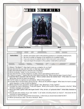 Movie Questions - The Matrix