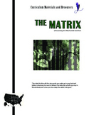 """The Matrix"" COMPLETE UNIT EDITABLE Activities,Tests,Essays,AP Style,Keys"