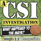 Maya CSI Investigation: What Happened to the Mayan Empire? Investigate the Maya!