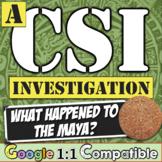Maya Empire CSI World History Investigation: What Happened to the Mayan Empire?