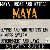 Maya Mini Bundle 8 Activities for Maya Inca Aztec Unit REC