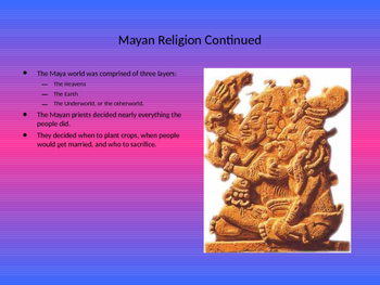 The Mayan Empire PowerPoint