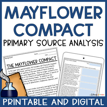 Mayflower Compact Guided Reading Teaching Resources Teachers Pay