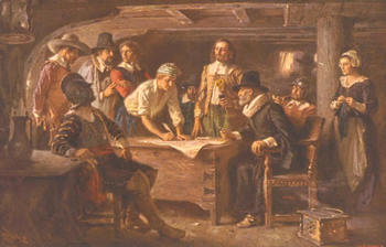 The Mayflower Compact and Fundamental Orders of Connecticut