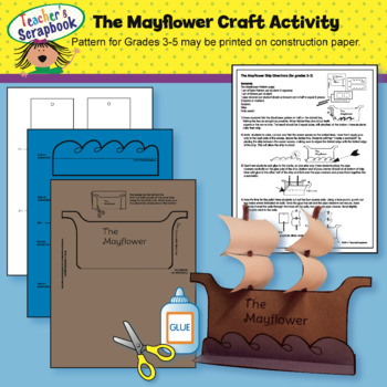 The Mayflower Craft Activity