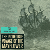 The Mayflower. ESL Beginner Plus Unit. Lesson Plans. Readi