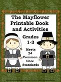 Mayflower  & Pilgrim Printable Book and Activities