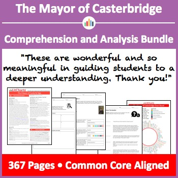 The Mayor of Casterbridge – Comprehension and Analysis Bundle