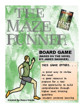 The Maze Runner Board Game