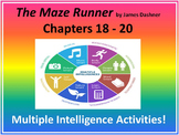 The Maze Runner (Chapters 18 - 20) Multiple Intelligence Activities