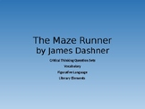 The Maze Runner Critical Thinking Question Sets