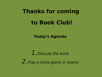 The Maze Runner (James Dashner) Book Club Discussion/Trivia