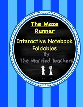 The Maze Runner Interactive Literature and Grammar Notebook Foldables